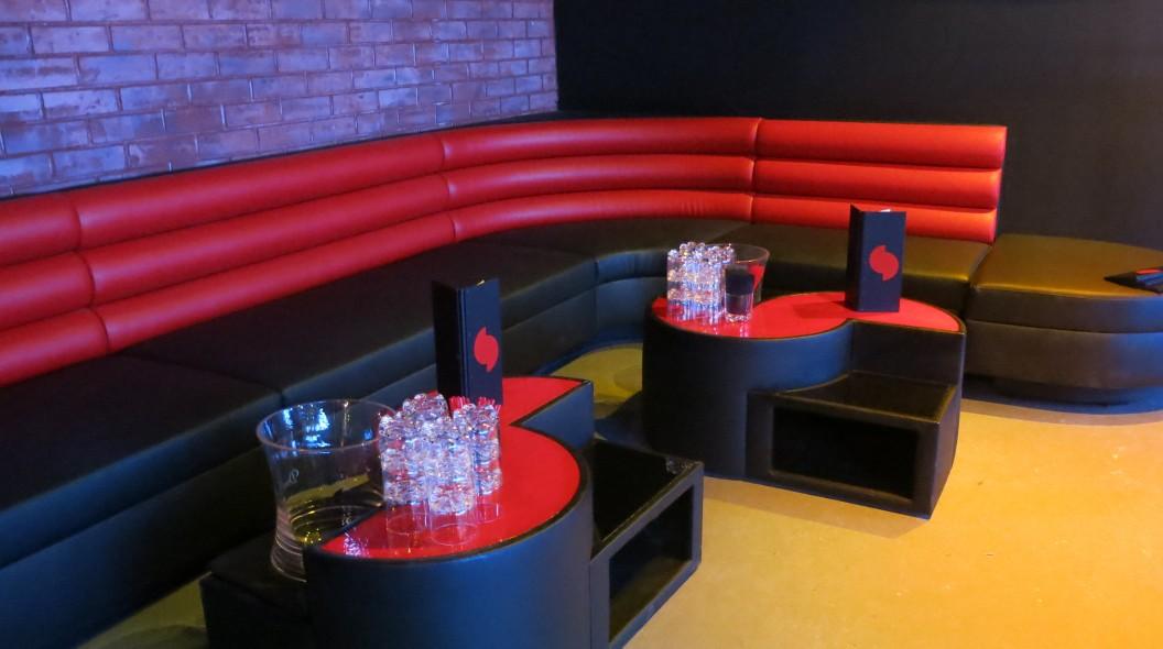 Shape Street CUSTOM VIP lounge design